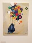 Toni Martin: Not Your Crow, Oil/Acrylic - Jennifer Seibert, Painting I