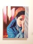 Masi Kafash: Persian Girl, Oil on Canvas - Jennifer Seibert, Painting II