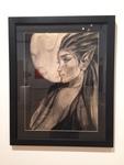 Erin Matlack: The Green Maiden, Charcoal - Theresa Traweek, Drawing II