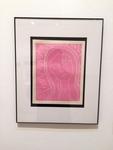 Nala Alfaro: La Virgen, Relief Print on 100% Rag Paper - Carter Scaggs, Printmaking I
