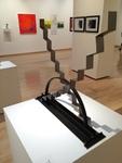 Geoffrey Thomson: Step Lightly, Steel - Luke Sides, Metal Sculpture