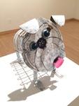 Brandy McKinnon: Little Pearl, Steel - Luke Sides, Metal Sculpture