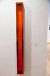 Tom Hollenback, Flute I, 2007, Fluorescent acrylice and steel