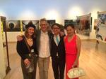 Byrd Williams with Natalie Small, Miaojian Zheng, and guest
