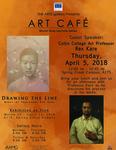 Drawing the Line Art Café Poster