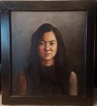 Diana - 2018 Oil on Panel 22 x 19 1/8 inches