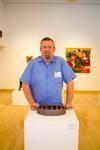 Chris Gray, Flameware Sausage Cooker, Cone 10 Flameware