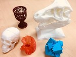 Collection of 3D Prints using PolyPrinter 3D Printer