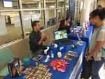 Frisco Campus Library Makerspace at student resource fair