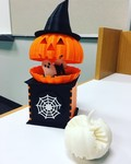 3D printed Halloween decoration from PolyPrinter 229- 2017