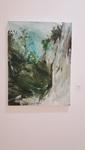 Keith Williams- Turner Falls. Acrylic on Canvas