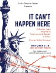 It Can't Happen Here- October 5th, 2019