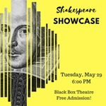 Shakespeare Showcase- May 29th, 2018