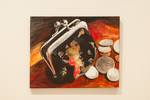 Christa Grogan, Coin Purse, Acrylic on Canvas
