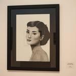 Yasmin Nasserzadeh, Audrey Hepburn Portrait, Charcoal