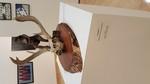 Bob Melton- Georgia's Always on My Mind, 2019. Bronze, Cast Iron, Skull, Wood. Prof Luke Sides, 3D Design